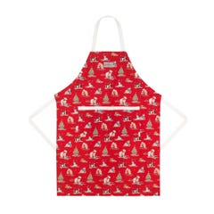 Festive Party Animals Easy Adjust Apron