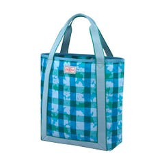 Flower Power Gingham Webbing Tote