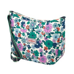 Petals Medium Zip Messenger
