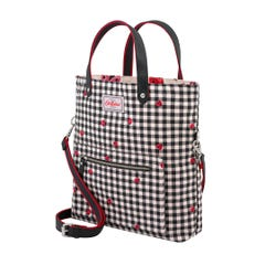 Ladybug Gingham Reversible Cross Body