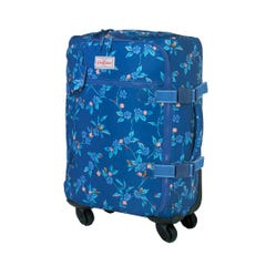 Greenwich Flowers Four Wheel Cabin Bag