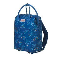 Greenwich Flowers Frame Wheeled Backpack