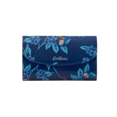 Greenwich Flowers Foldover Wallet