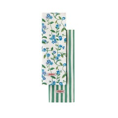 Greenwich Flowers Tea Towel Set X 2