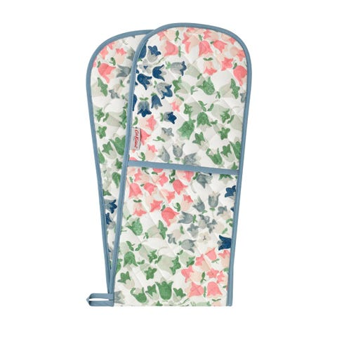 Painted Bluebell Double Oven Glove