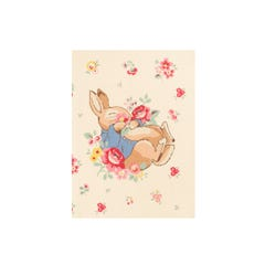 Beatrix Potter Ditsy Cloth A6 Notebook