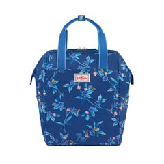 Greenwich Flowers Double Zip Backpack Nappy Bag
