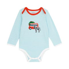 Animals LS Envelope Neck Bodysuit