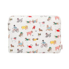 "Small Park Dogs 15"" Laptop Sleeve"