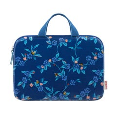 "Greenwich Flowers 15"" Laptop Sleeve With Handle"