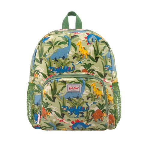 Dinosaur Jungle Kids Classic Large Backpack With Mesh Pocket