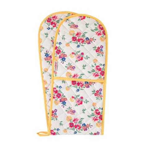 Summer Floral Double Oven Glove